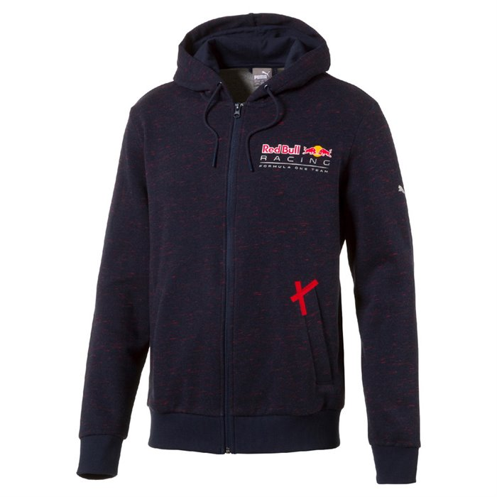 Puma Red Bull Racing Hooded Sweat Jacket P 225 Nsk 225 Mikina