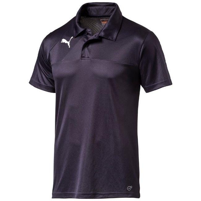 PUMA Esquadra Leisure Polo pánské tričko, Barva: tmavě modrá, Materiál: 100% polyester - Objednejte nyní online na Pumashop.cz.
