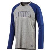 PUMA STYLE Athletics LS RaglanTee pánské tričko