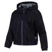 PUMA Denim T7 Track Jacket dámská bunda