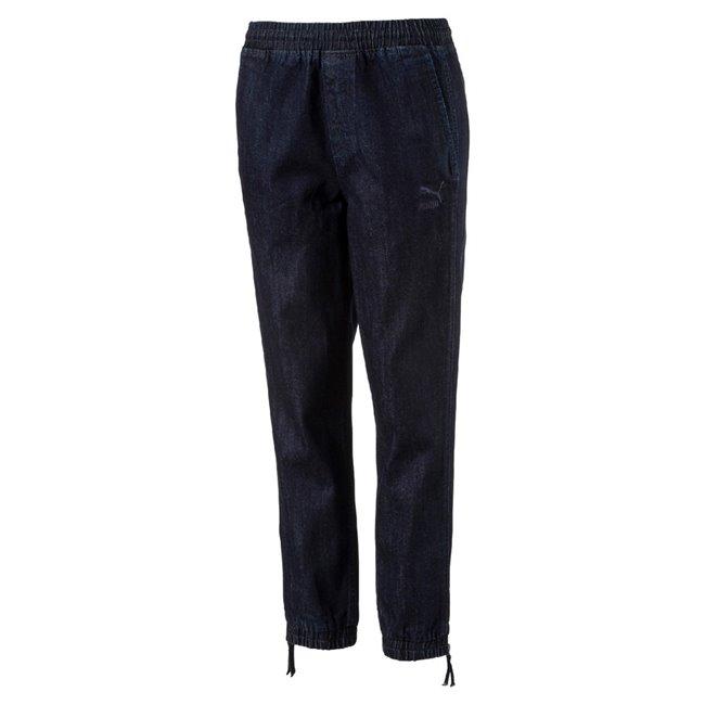 PUMA Denim T7 Track Pant dámské kalhoty