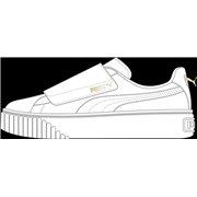 PUMA Basket Platform Strap Wns dámské boty