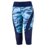 PUMA Graphic 3 4 Tight W dámské elastické kalhoty