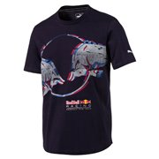 PUMA Red Bull Double Bull Tee tričko
