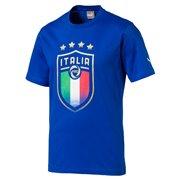 PUMA FIGC Italia Badge Tee pánské tričko