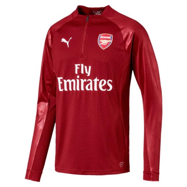Arsenal FC 1 4 Zip Top pánská mikina