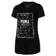 PUMA FUSION Graphic Tee dámské tričko
