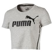 PUMA Tape Logo Croped Tee dámské tričko