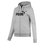 PUMA Essentials Fleece Hooded Jkt dámská mikina s kapucí
