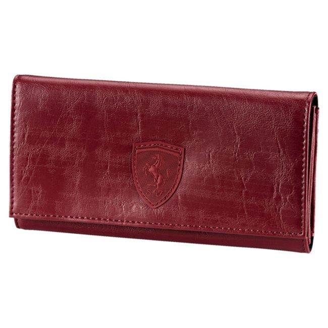Ferrari LS Wallet F dámská peněženka, Barva: vínová, Materiál: 100% Polyurethan, Velikost: 19 x 10 x 2 cm - Objednejte nyní online na Pumashop.cz.
