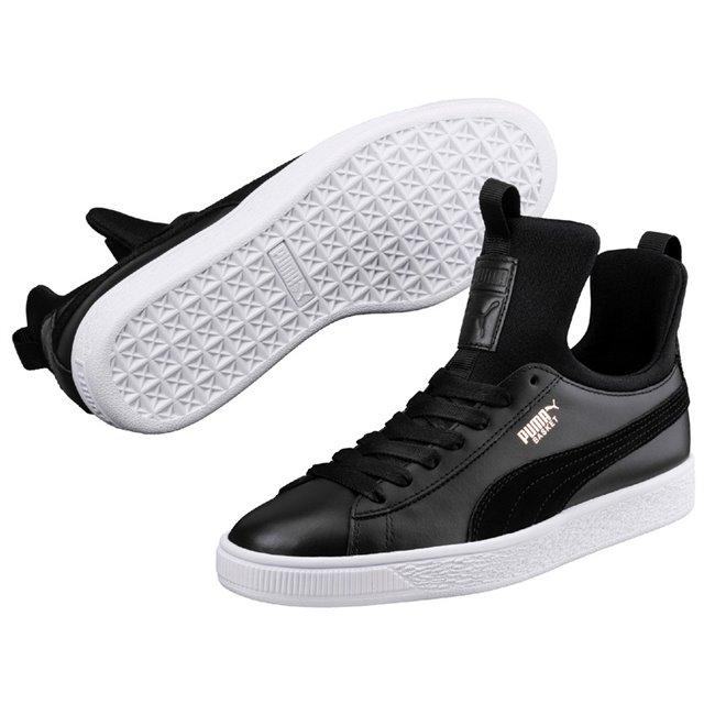PUMA Basket Fierce wns dámské boty, Barva: černá, Materiál: Svršek: kůže, Mezipodešev: guma, Podešev: guma - Objednejte nyní online na Pumashop.cz.