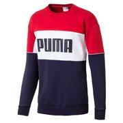 PUMA Retro Crew dk pánská mikina