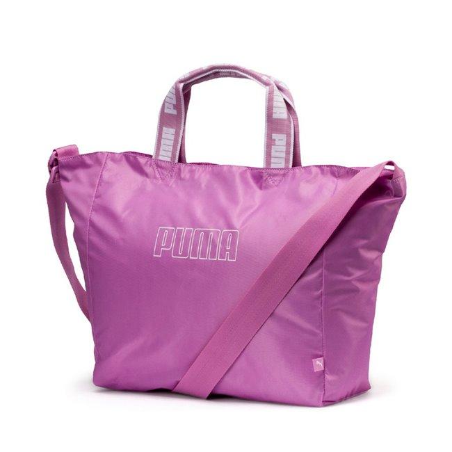 PUMA WMN Core Now Large Shopper dámská taška, Barva: růžová, Materiál: 100% Polyester, Velikost: 50 x 32 x 12 cm, objem: 15l - Objednejte nyní online na Pumashop.cz.