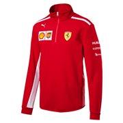 Ferrari SF Team Half Zip Fleece pánská mikina