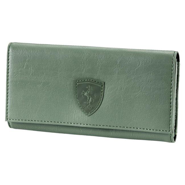 Ferrari LS Wallet F dámská peněženka, Barva: tmavě zelená, Materiál: 100% Polyurethan, Velikost: 19 x 10 x 2 cm - Objednejte nyní online na Pumashop.cz.
