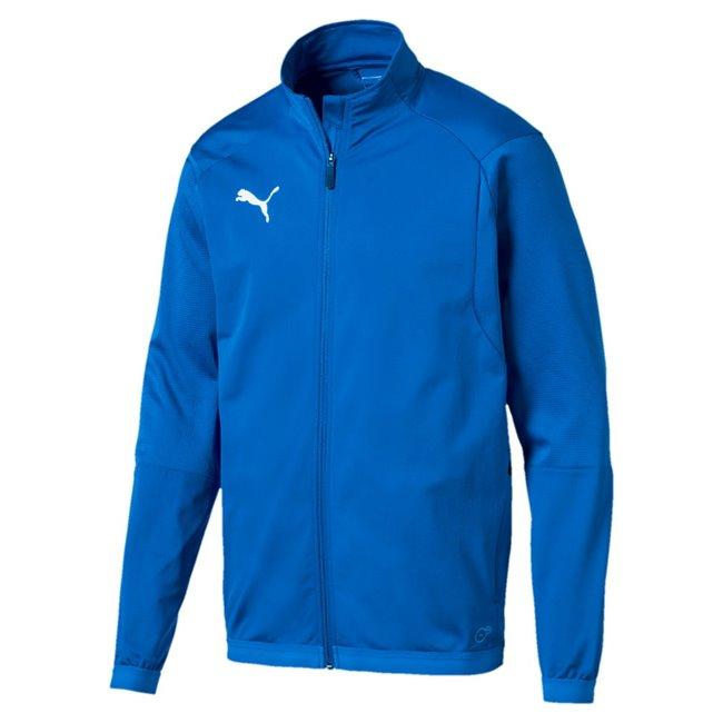 PUMA LIGA Training Jacket pánská bunda, Barva: modrá, Materiál: 100% polyester, xxx - Objednejte nyní online na Pumashop.cz.