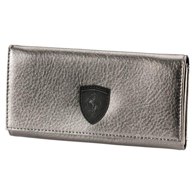 Ferrari LS Wallet F dámská peněženka, Barva: šedá, Materiál: 100% Polyurethan, Velikost: 19 x 10 x 2 cm - Objednejte nyní online na Pumashop.cz.