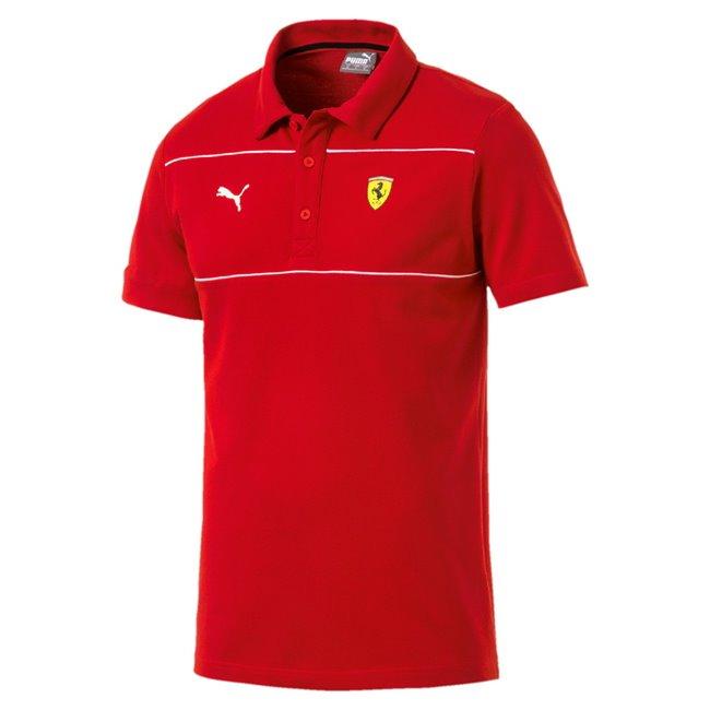 Ferrari SF Polo pánské tričko, Barva: Ferrari červená, Materiál: 100% bavlna, Pánské polo z kolekce PUMA Ferrari. Vyrobené ze 100% bavlny. - Objednejte nyní online na Pumashop.cz.