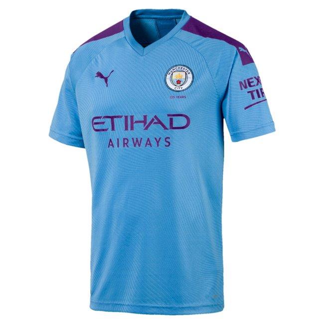 Manchester City MCFC HOME Shirt Replica SS dres, Barva: modrá, Materiál: polyester, 0 - Objednejte nyní online na Pumashop.cz.