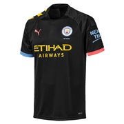 Manchester City MCFC AWAY Shirt Replica SS dres