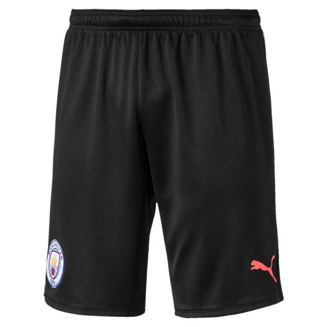 Manchester City MCFC Shorts Replica pánské šortky, Barva: černá, Materiál: polyester, 0 - Objednejte nyní online na Pumashop.cz.