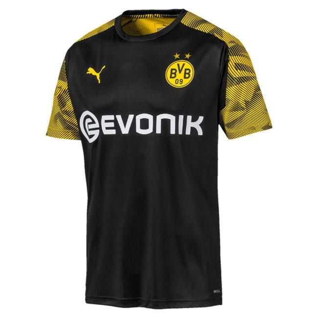 Borussia BVB Training Jersey with Evo pánské tričko, Barva: černá, Materiál: polyester, 0 - Objednejte nyní online na Pumashop.cz.
