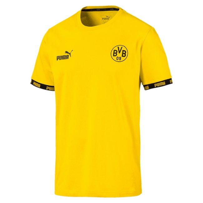Borussia BVB FtblCulture Tee pánské tričko, Barva: žlutá, Materiál: bavlna, 0 - Objednejte nyní online na Pumashop.cz.