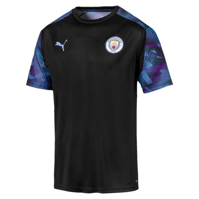 Manchester City MCFC Training Jersey pánské tričko, Barva: černá, Materiál: polyester, 0 - Objednejte nyní online na Pumashop.cz.