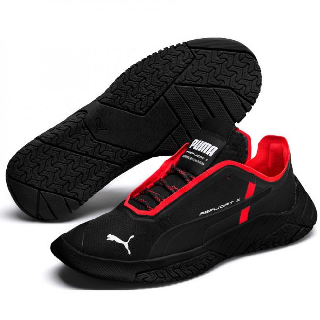 PUMA Replicat-X Circuit pánské boty, Barva: černá, Materiál: syntetická kůže, Sportovní boty Replicat X Circuit vyrobené z kvalitní syntetické kůže, vnitřek vyplněn pěnou SoftFoam+, zvenku ozdoben logem PUMA. Vhodné ke každodennímu nošení. Zvenku jsou zdobeny kočičím logem PUMA. - Objednejte nyní online na Pumashop.cz.