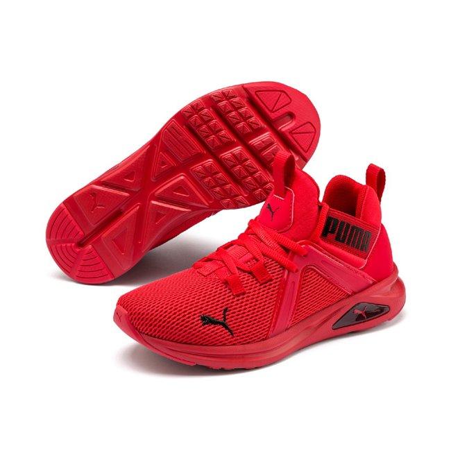 PUMA Enzo 2 Weave dámské boty, Barva: červená, Materiál: Svršek: textílie, Mezipodešev: EVA, Podešev: guma, Ostatní: Sportovní boty Enzo 2 Weave Jr vyrobeny z vysoce kvalitního materiálu, takže jejich dlouhá životnost je zaručena. Vnitřní stélka boty je vyrobena ze speciální SoftFoam+ pěny, která se stará o maximální pohodlí a oporu při nošení. Bota je vhodná ke každodennímu nošení. - Objednejte nyní online na Pumashop.cz.