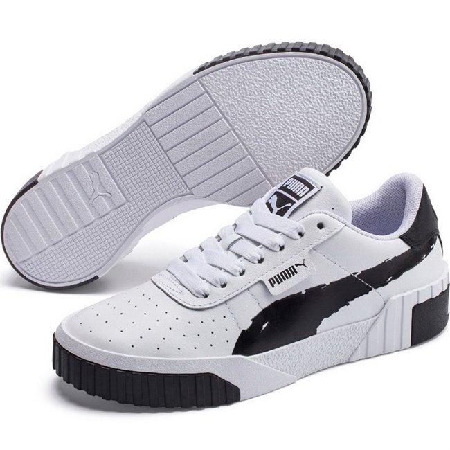 PUMA Cali Brushed Wns dámské boty, Barva: černá, Ostatní: Sportovní boty Cali Brushed Wn s jsou vyrobeny z trvanlivého a kvalitního materiálu a disponují krásným moderním vzhledem. Celkově je bota velmi odlehčená, ale zároveň stabilní. Vhodná pro každodenní používání. - Objednejte nyní online na Pumashop.cz.