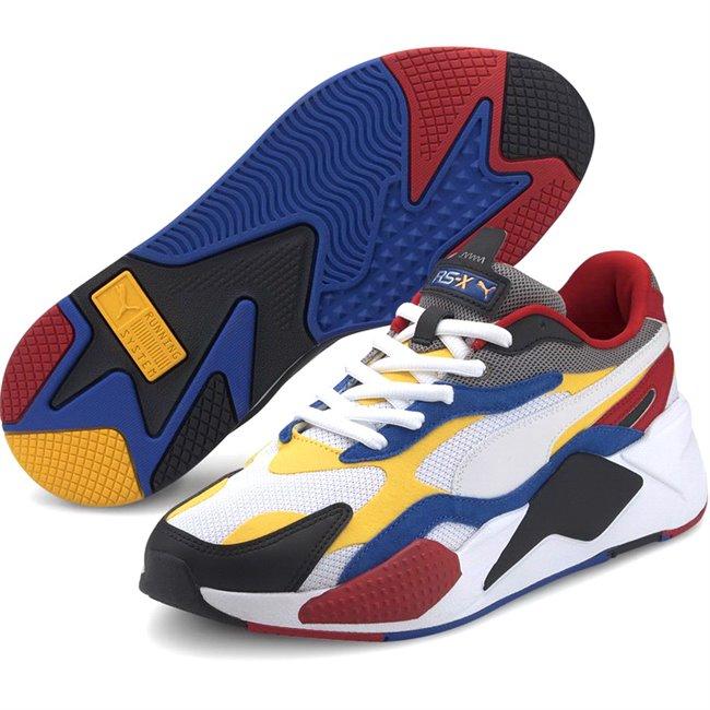 PUMA RS-X PUZZLE boty, Barva: bílá, Materiál: Svršek: mesh, Mezipodešev: PU, Podešev: guma, Ostatní: Sportovní boty z řady RS jsou vyrobeny z vysoce kvalitního materiálu, vnitřní stélka je vybavena speciální pěnou SoftFoam+, která zaručuje potřebný komfort a oporu při nošení. Tyto boty prostě musíte mít! - Objednejte nyní online na Pumashop.cz.