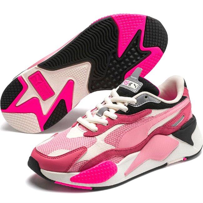 PUMA RS-X PUZZLE boty, Barva: růžová, Materiál: Svršek: mesh, Mezipodešev: PU, Podešev: guma, Ostatní: Sportovní boty z řady RS jsou vyrobeny z vysoce kvalitního materiálu, vnitřní stélka je vybavena speciální pěnou SoftFoam+, která zaručuje potřebný komfort a oporu při nošení. Tyto boty prostě musíte mít! - Objednejte nyní online na Pumashop.cz.