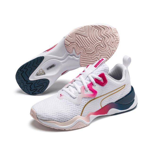 PUMA Zone XT Sunset Wns dámské boty, Barva: bílá, Ostatní: Sportovní boty Zone XT Sunset Wns vyrobeny z vysoce kvalitního materiálu, takže jejich dlouhá životnost je zaručena. Vnitřní stélka boty je vyrobena ze speciální SoftFoam+ pěny, která se stará o maximální pohodlí a oporu při nošení. Bota je vhodná ke každodennímu nošení. - Objednejte nyní online na Pumashop.cz.