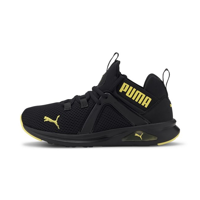 PUMA Enzo 2 Weave dámské boty, Barva: černá, Materiál: Svršek: textílie, Mezipodešev: EVA, Podešev: guma, Ostatní: Sportovní boty Enzo 2 Weave Jr vyrobeny z vysoce kvalitního materiálu, takže jejich dlouhá životnost je zaručena. Vnitřní stélka boty je vyrobena ze speciální SoftFoam+ pěny, která se stará o maximální pohodlí a oporu při nošení. Bota je vhodná ke každodennímu nošení. - Objednejte nyní online na Pumashop.cz.