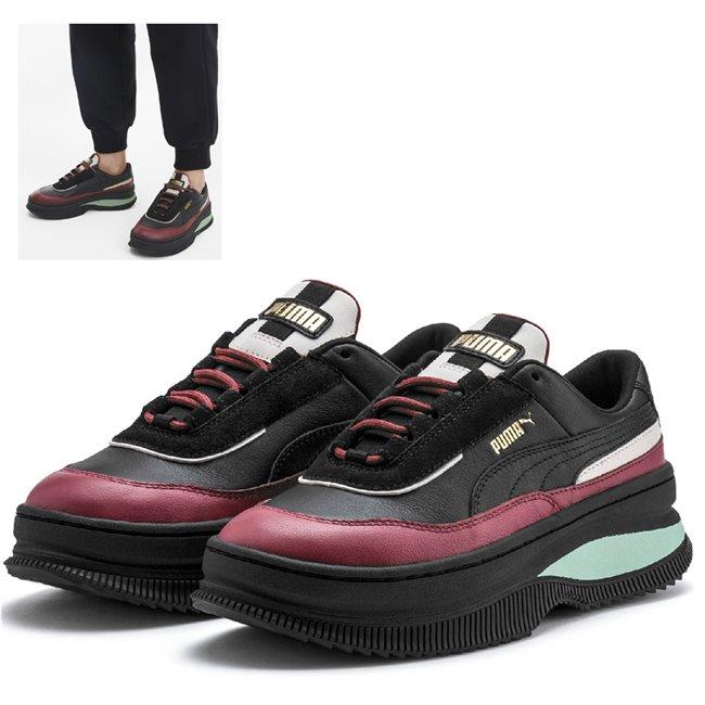 PUMA Deva Chic Wns dámské boty, Barva: černá, Materiál: Svršek: kůže, Mezipodešev: guma, Podešev: guma, Ostatní: Sportovní boty z řady Deva vyrobeny z vysoce kvalitního materiálu, takže jejich dlouhá životnost je zaručena. Vnitřní stélka boty je vyrobena ze speciální SoftFoam+ pěny, která se stará o maximální pohodlí a oporu při nošení. Bota je vhodná ke každodennímu nošení. - Objednejte nyní online na Pumashop.cz.