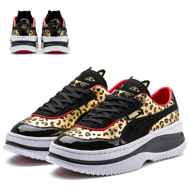 PUMA DEVA CHARLOTTE dámské boty, Barva: černá, Materiál: Svršek: kůže, Mezipodešev: guma, Podešev: guma, Ostatní: Sportovní boty z kolaborace PUMAx CHARLOTTE jsou vyrobeny z vysoce kvalitního materiálu, vnitřní stélka je vybavena speciální pěnou SoftFoam+, která zaručuje potřebný komfort a oporu při nošení. Tyto boty prostě musíte mít! - Objednejte nyní online na Pumashop.cz.