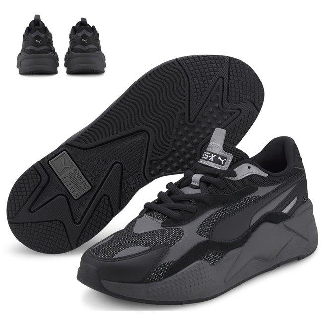 PUMA RS-X PUZZLE boty, Barva: černá, Materiál: Svršek: mesh, Mezipodešev: PU, Podešev: guma, Ostatní: Sportovní boty z řady RS jsou vyrobeny z vysoce kvalitního materiálu, vnitřní stélka je vybavena speciální pěnou SoftFoam+, která zaručuje potřebný komfort a oporu při nošení. Tyto boty prostě musíte mít! - Objednejte nyní online na Pumashop.cz.