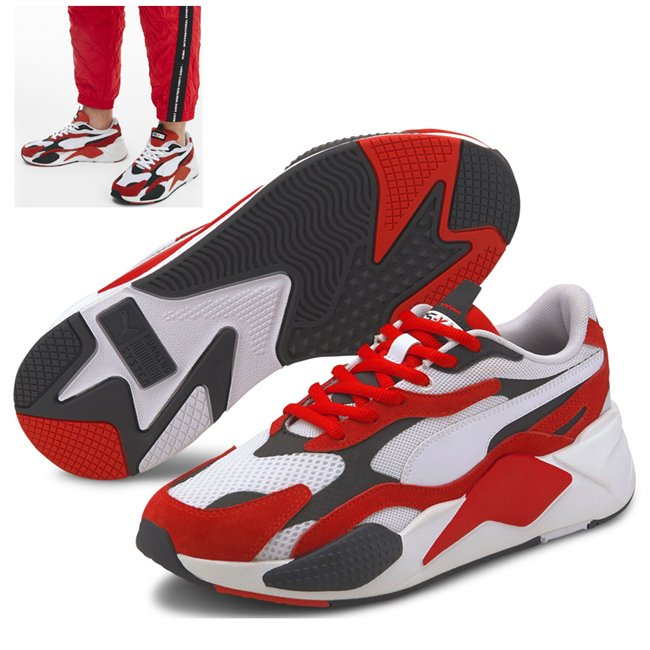 PUMA RS-X SUPER boty, Barva: bílá, Materiál: Svršek: mesh, Mezipodešev: PU, Podešev: guma, Ostatní: Sportovní boty z řady RS jsou vyrobeny z vysoce kvalitního materiálu, vnitřní stélka je vybavena speciální pěnou SoftFoam+, která zaručuje potřebný komfort a oporu při nošení. Tyto boty prostě musíte mít! - Objednejte nyní online na Pumashop.cz.