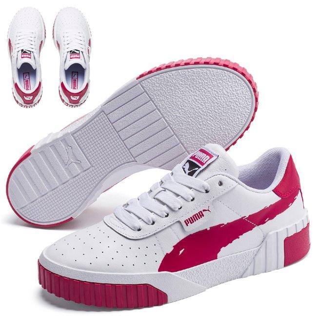 PUMA Cali Brushed Wns dámské boty, Barva: bílá, Ostatní: Sportovní boty Cali Brushed Wn s jsou vyrobeny z trvanlivého a kvalitního materiálu a disponují krásným moderním vzhledem. Celkově je bota velmi odlehčená, ale zároveň stabilní. Vhodná pro každodenní používání. - Objednejte nyní online na Pumashop.cz.