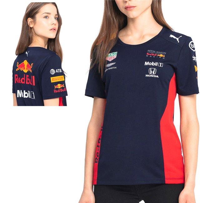 PUMA Aston Martin Red Bull Team Tee dámské tričko, Barva: černá, Materiál: N/A, Ostatní: Pánské sportovní triko z řady PUMA AMRBR Motosport ze 100% bavlny. - Objednejte nyní online na Pumashop.cz.