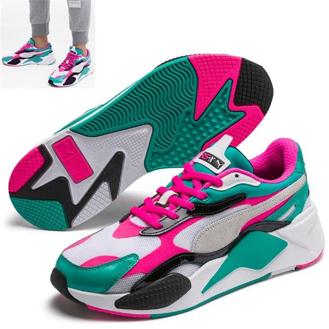 PUMA RS-X PLASTIC boty, Barva: bílá, Materiál: Svršek: mesh, Mezipodešev: PU, Podešev: guma, Ostatní: Sportovní boty z řady RS jsou vyrobeny z vysoce kvalitního materiálu, vnitřní stélka je vybavena speciální pěnou SoftFoam+, která zaručuje potřebný komfort a oporu při nošení. Tyto boty prostě musíte mít! - Objednejte nyní online na Pumashop.cz.
