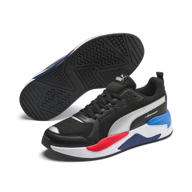 PUMA BMW MMS X-Ray boty, Barva: černá, Materiál: Svršek: mesh, useň, syntetická kůže, Mezipodešev: EVA, Podešev: guma, Ostatní: Sportovní boty z řady Motosport PUMA BMW MMS X-Ray prošly modernizací a jsou tu zpět v parádní formě. Potažené kvalitní syntetickou kůží, prošívané, s vylepšenou podrážkou pro optimální stabilitu. - Objednejte nyní online na Pumashop.cz.