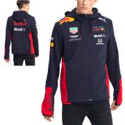 Aston Martin Red Bull Team Hooded Sweat Jkt pánská mikina s kapucí