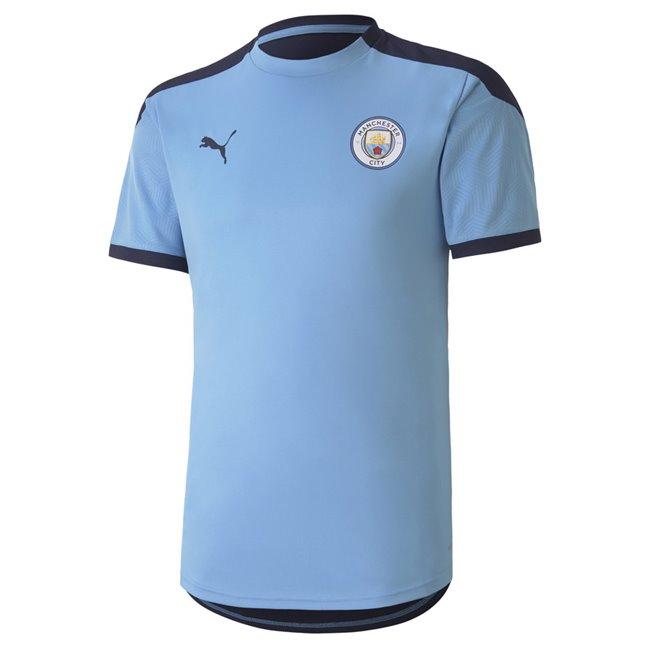 Manchester City Training Jersey pánské tričko, Barva: modrá, tmavě modrá, Materiál: polyester, Ostatní: - - Objednejte nyní online na Pumashop.cz.