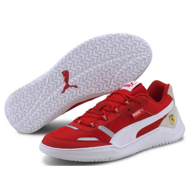 Ferrari Race DC Future boty, Barva: červená, bílá, bílá, Materiál: textílie, Ostatní: Sportovní boty z řady Motosport. - Objednejte nyní online na Pumashop.cz.