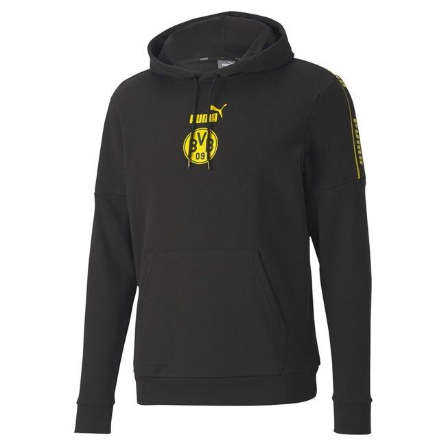 Borussia Dortmund ftblCulture Hoody pánská mikina, Barva: černá, žlutá, Materiál: polyester, bavlna, Ostatní: - - Objednejte nyní online na Pumashop.cz.