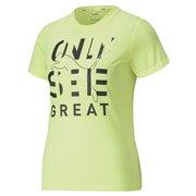 PUMA Performance Slogan SS Tee dámské tričko