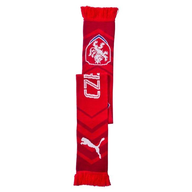<p><em><strong>PUMA Česká reprezentace Fanscarf šála</strong></em>, Barva: červená, bílá, Materiál: 100% acrylic</p> - Objednejte nyní online na Pumashop.cz.