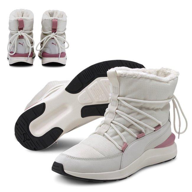 PUMA Adela Winter Boot dámské kotníkové boty, Barva: šedá, šedá, Materiál: nylon, syntetická kůže, Ostatní: Sportovní boty Adela Winter Boot jsou ideální volbou pro nastávající chladné, zimní dny. - Objednejte nyní online na Pumashop.cz.